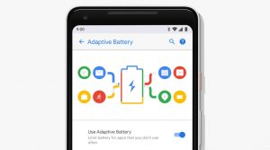 battery android 9